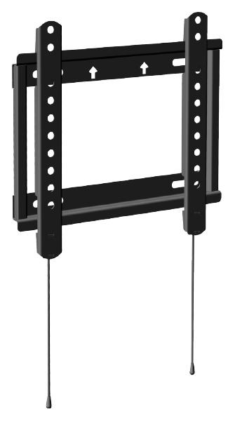 Кронштейн для телевизора черный TRONE FRAME 10