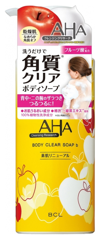 Гель для душа Beauty Creative Lab AHA Cleansing Research Body Clear Soap B 400 мл