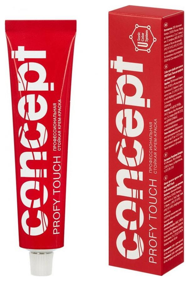 Краска для волос Concept Profy Touch 10,8 Очень светлый серебристо-жемчужный 60 мл