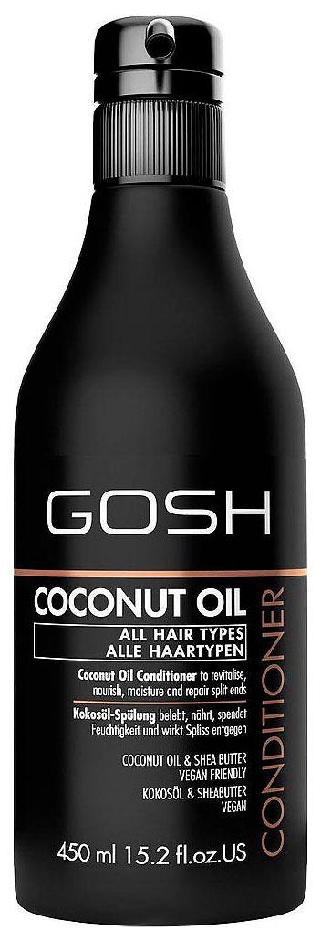 Купить Кондиционер для волос Gosh Coconut Oil 450 мл, GOSH COPENHAGEN