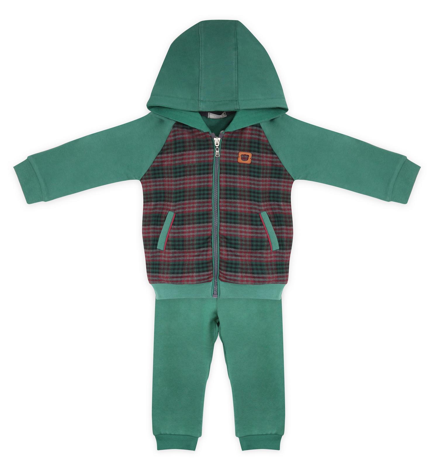 Купить МЛ392393, Комплект одежды RBC, цв. зеленый р.86,