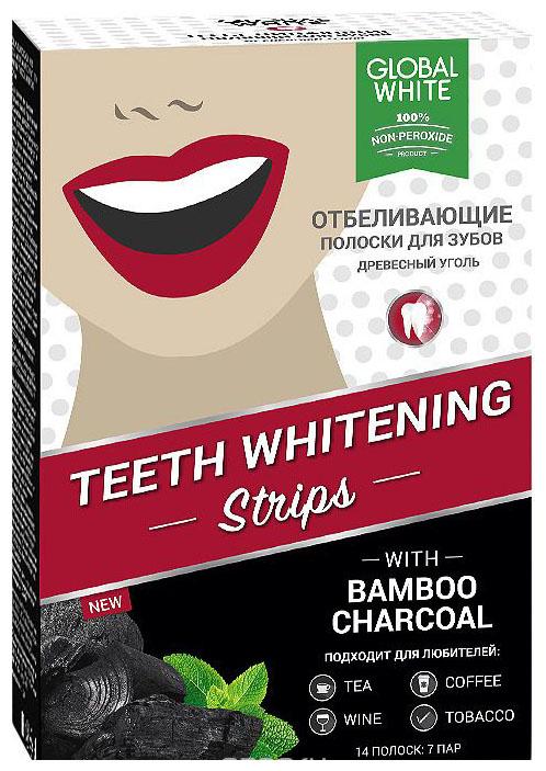 Пластина для отбеливания зубов Global white Древесный