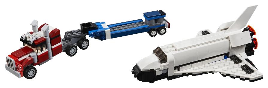Конструктор LEGO Creator 31091 Транспортировщик шаттлов