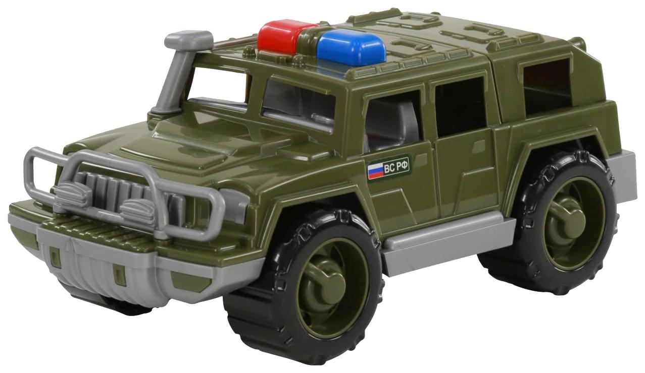Купить Игрушки, Автомобиль-джип Полесье военный патрульный Защитник, Игрушечные машинки