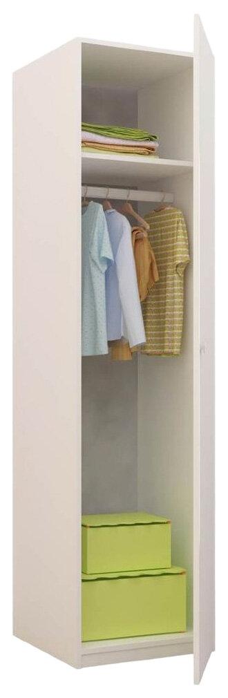 Купить Детский шкаф-пенал Фея 1072.9 Белый, Шкафы в детскую комнату