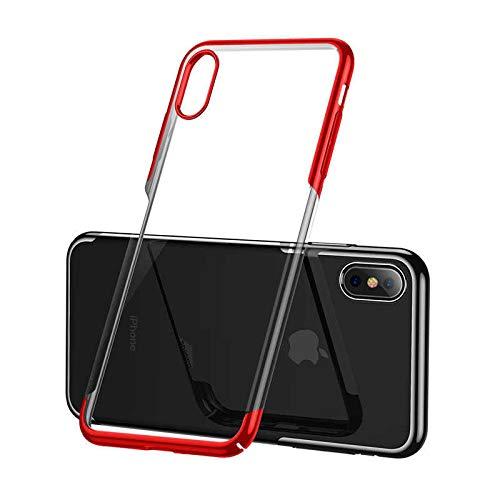 Чехол Baseus Glitter Case (WIAPIPH65-DW09) для iPhone Xs Max (Red)