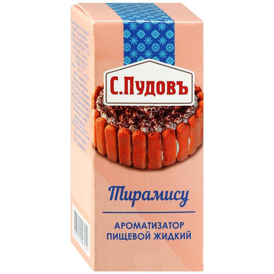 Ароматизатор пищевой жидкий С.Пудовъ тирамису 10 мл фото