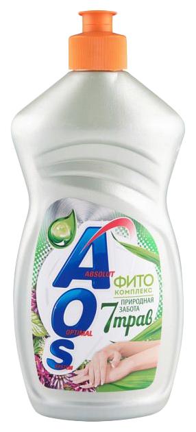 Средство для мытья посуды жидкое Аos фито