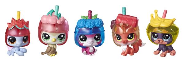 Купить Игровой набор Hasbro Littlest Pet Shop Петы в холодильнике - Слаши Cквад, Игровые наборы