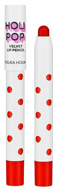 Помада Holika Holipop Holipop Velvet Lip Pencil