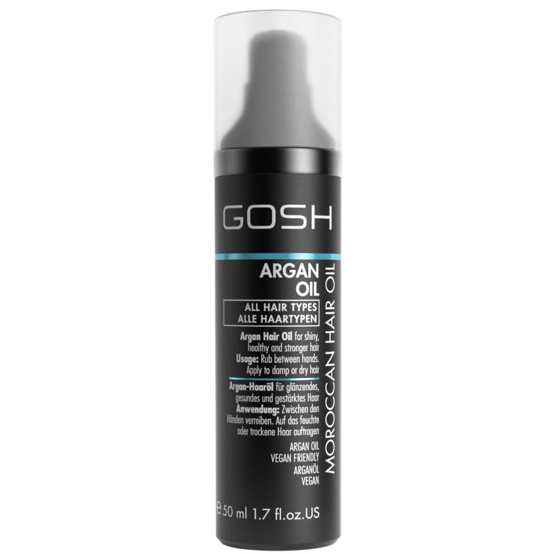 Купить Масло для волос GOSH Argan Oil Moroccan Hair Oil, GOSH COPENHAGEN