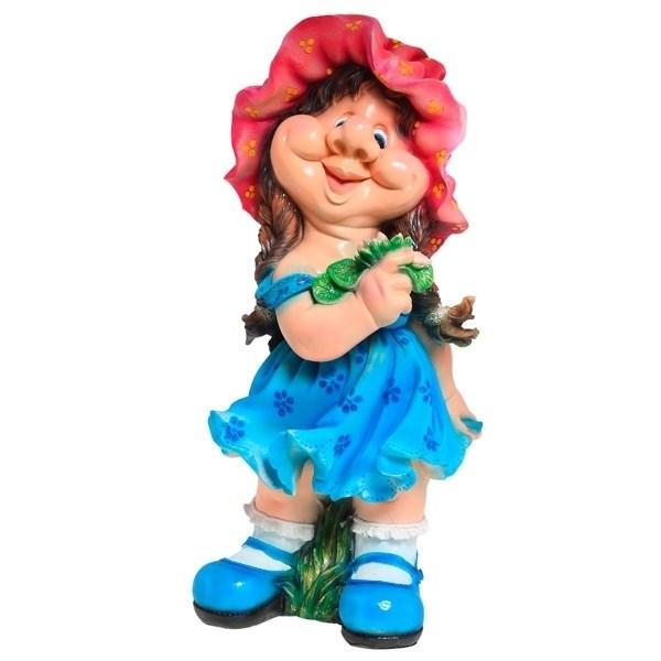 NONAME Фигура садовая Девочка кокетка H72 см.