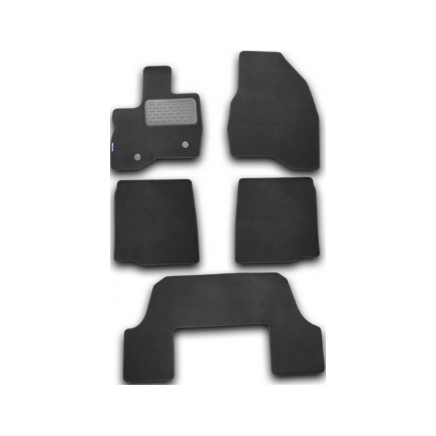 Коврики в салон Autofamily для FORD Explorer стандарт 2011-2018, текстиль