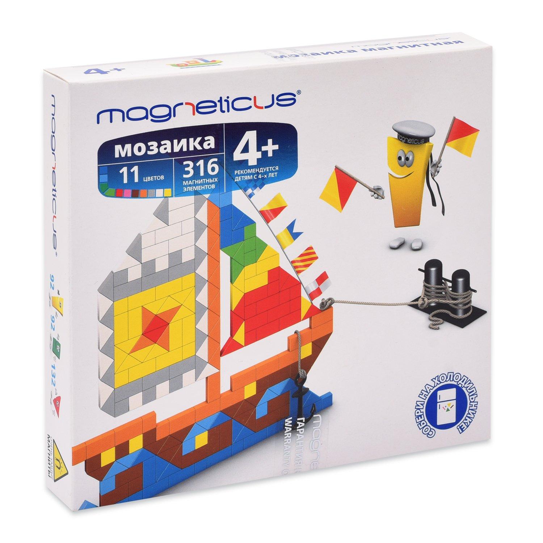 Купить MAGNETICUS Миди-мозаика магнитная Корабли, 316 элементов, Мозаики