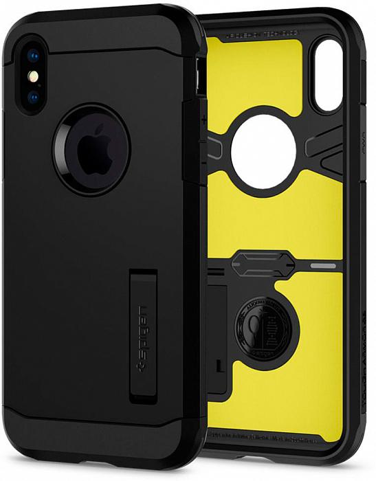 Чехол Spigen Tough Armor XP (063CS25623) для iPhone X/Xs (Black)