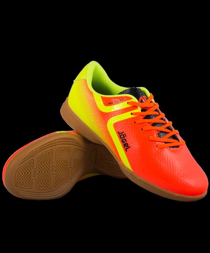 Футбольные бутсы Jogel Rapido JSH4001, оранжевые, 42 EU