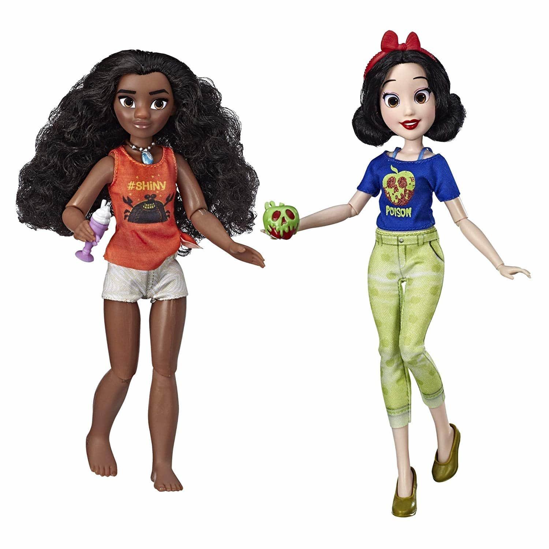 Купить Куклы Disney Princess Моана и Белоснежка Ральф против интернета E7357, Классические куклы