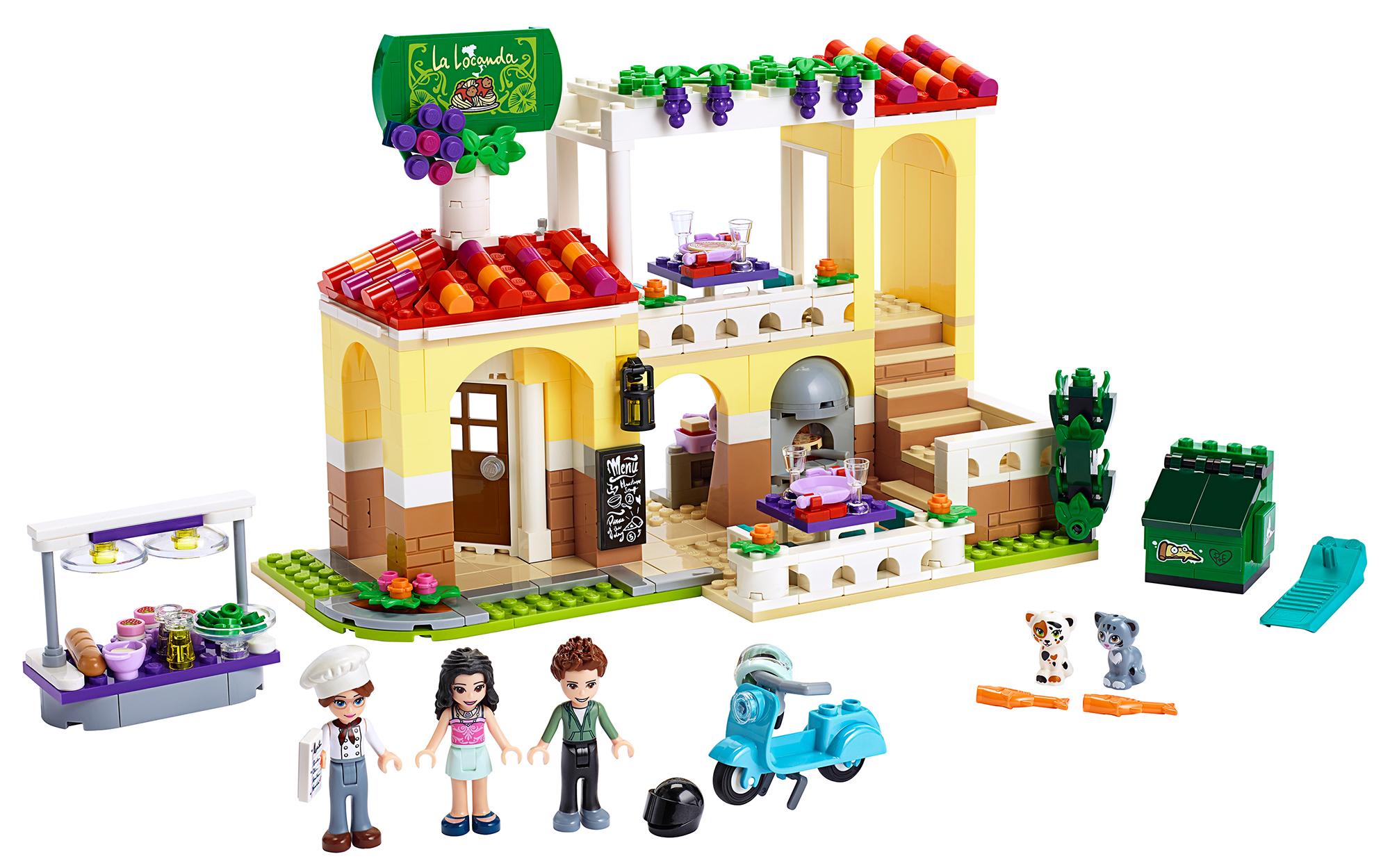 Купить Heartlake, Конструктор LEGO Friends Ресторан Хартлейк Сити, LEGO для девочек