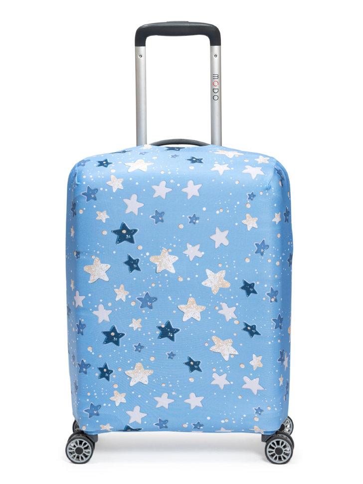 Чехол для чемодана Mettle Синяя звезда S ручная кладь фото