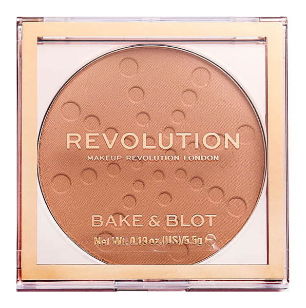 Пудра Revolution Makeup Bake & Blot Peach