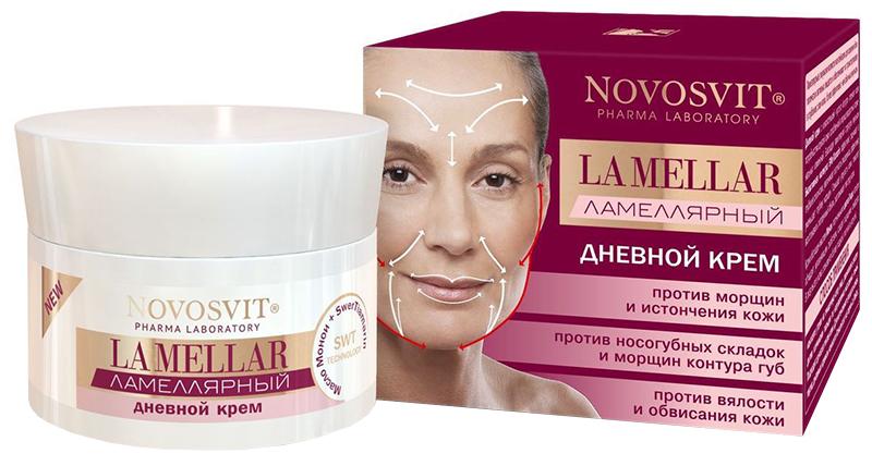 Крем для лица Novosvit Ламеллярный дневной 50 мл