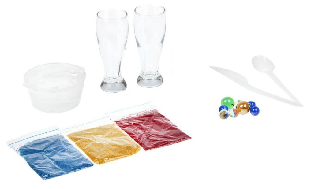 Купить Поделка БрикНик Набор для изготовления гелевых свечей Радужные камушки 723, Рукоделие