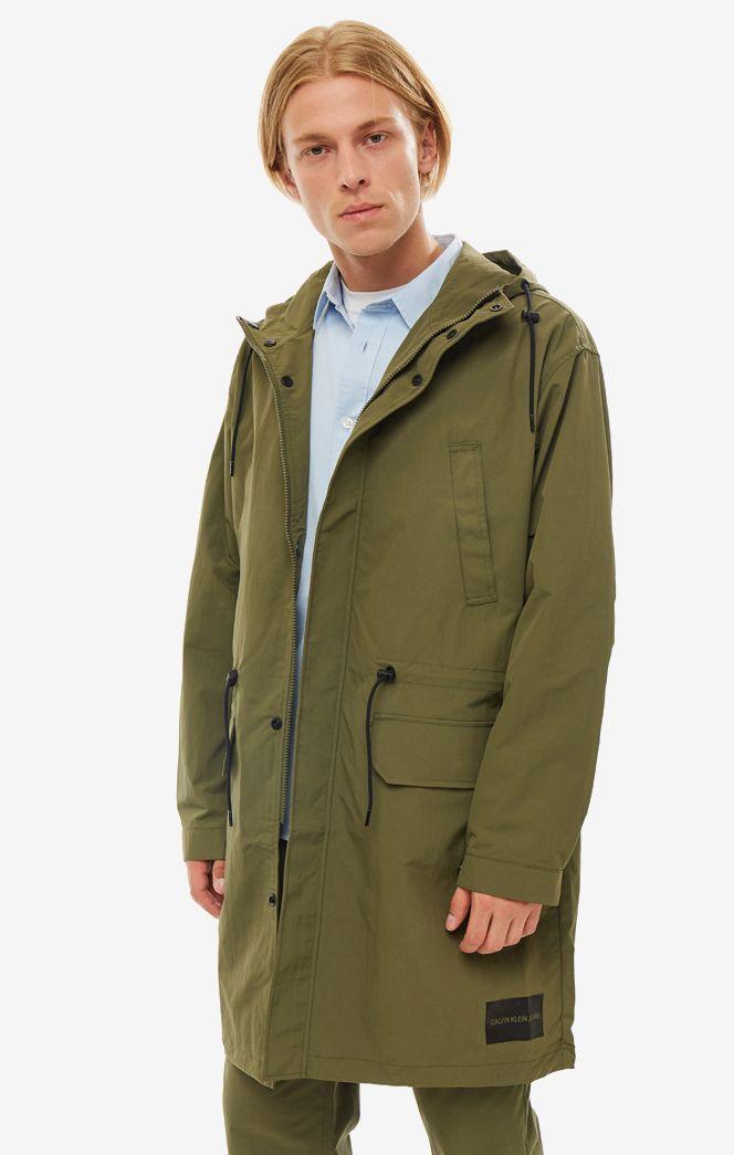 Парка мужская Calvin Klein Jeans J30J3.12518.3710 хаки XXL