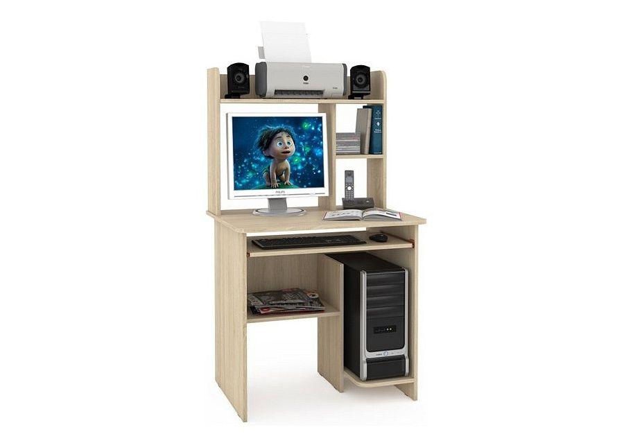 Компьютерный стол Mobi Комфорт 3 СК MOB_76616 90x83x139, дуб сонома