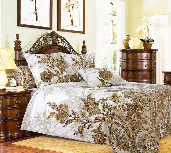 Комплект постельного белья 2-спальный Музей-4