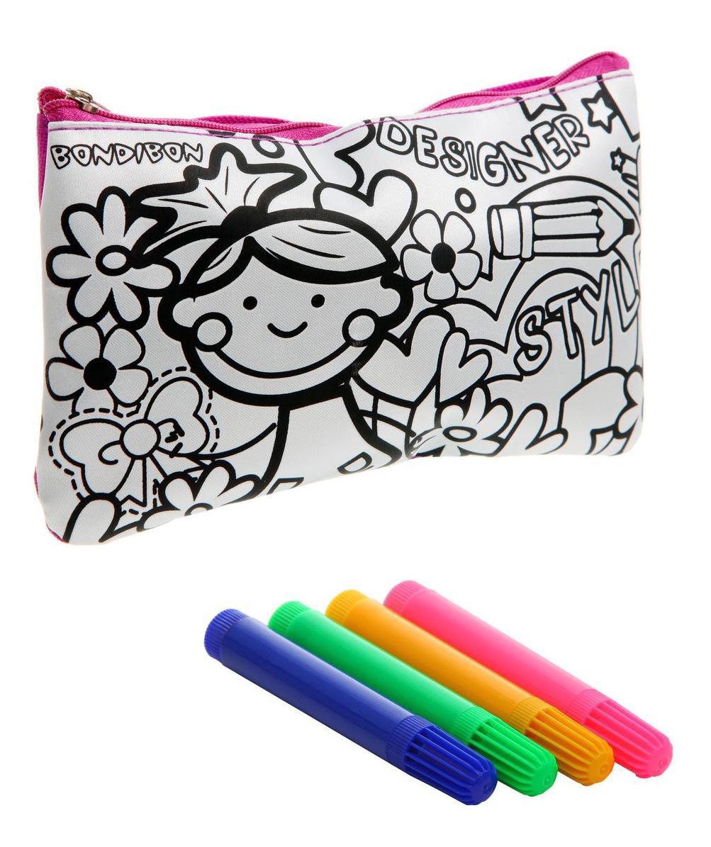 Набор для творчества Bondibon сумка для раскрашивания вв1193