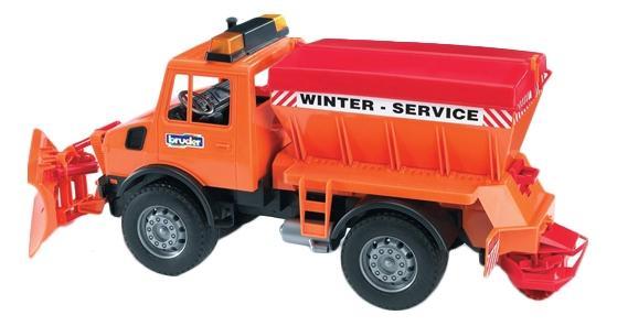 Купить Снегоуборочная машина Mercedes-Benz, Снегоуборочная машина Bruder Mercedes-Benz, Игрушечный транспорт Bruder