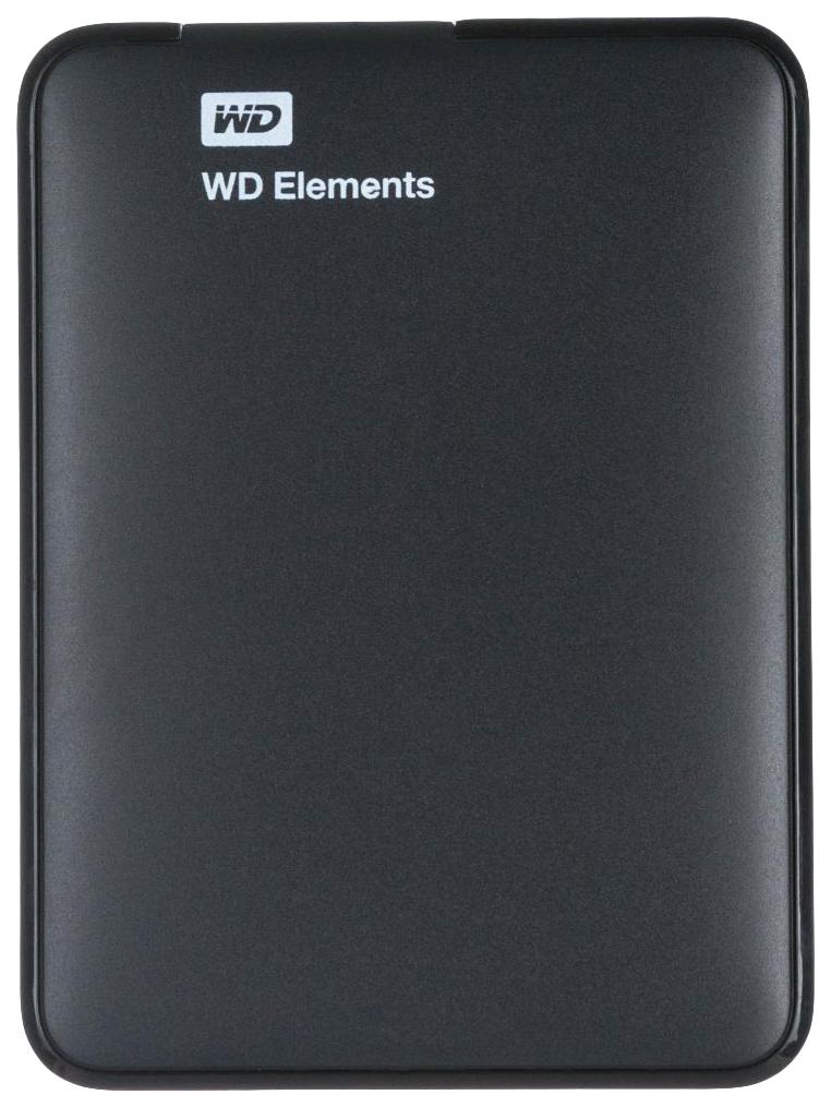 Внешний диск HDD WD elements 3TB Black
