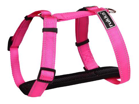 Шлейка для собак Rukka Mini XS розовый фото