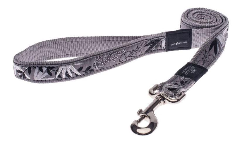 Поводок для собак Rogz Fancy Dress XL-25мм 1,2 м (Серебряная саламандра HL02BS)