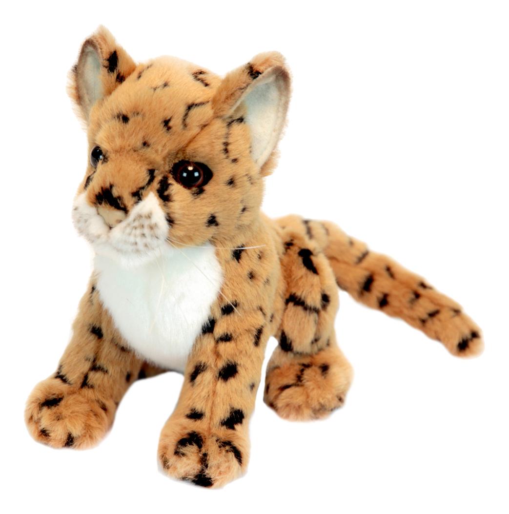 Купить Леопард 16 см, Мягкая игрушка Hansa Леопард 1 6 см, Мягкие игрушки животные