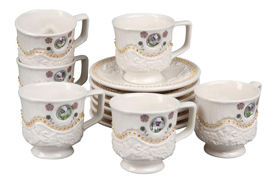 Чайный сервиз Rosenberg Чайный сервиз 8694, 12 предметов, 180 мл 12 пр. фото