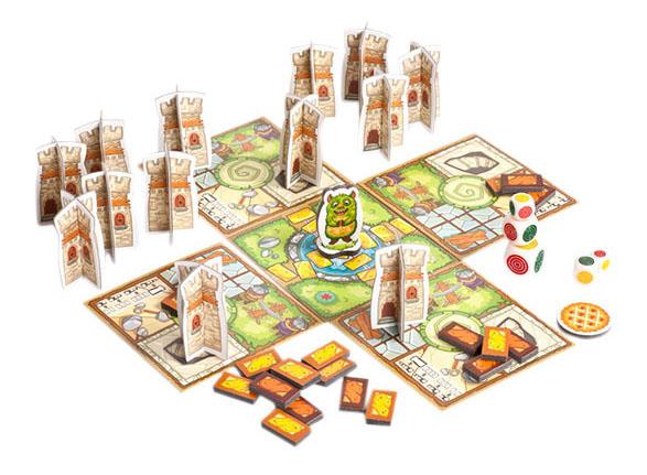 Купить Семейная настольная игра Zvezda Аппетитный замок, Семейные настольные игры