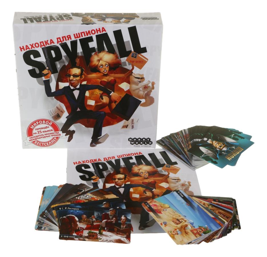 Семейная настольная игра Hobby World Находка для шпиона