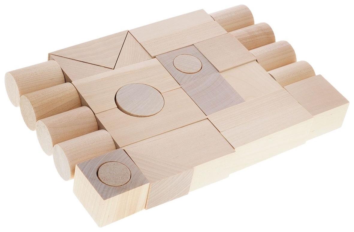 Купить Конструктор деревянный Alatoys Городок К 2100-3, Алатойс,