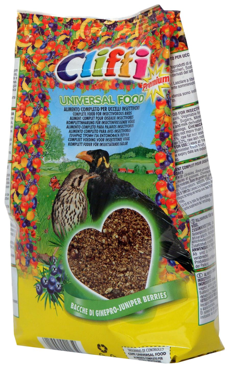 Основной корм Cliffi универсальный для насекомоядных птиц
