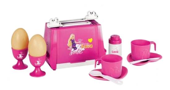 Купить Набор для завтрака Barbie Тостер, Детская кухня
