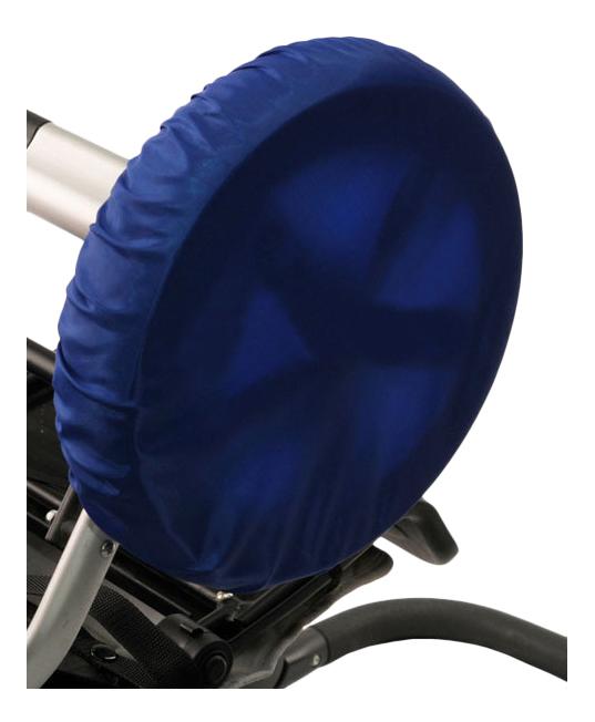 Чехол на колеса детской коляски Чудо-Чадо 4 шт. 18-28 см василек