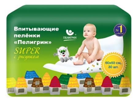 Пеленки для детей Пелигрин Super 60