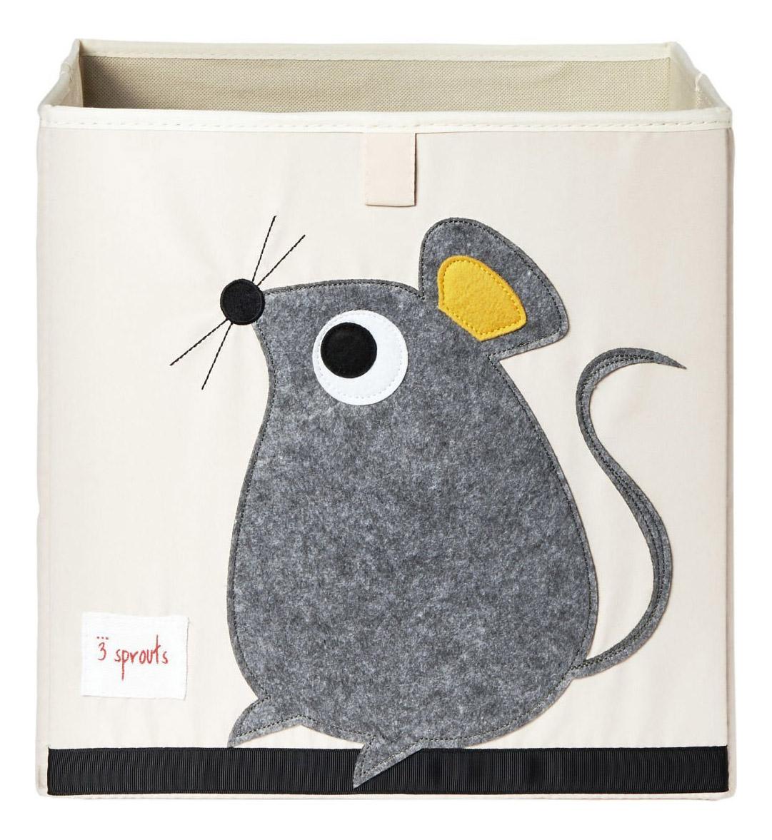 Ящик для хранения игрушек 3 sprouts Мышь
