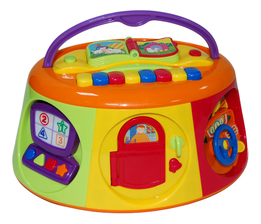 Развивающая игрушка Kiddieland Активный короб с книжкой фото