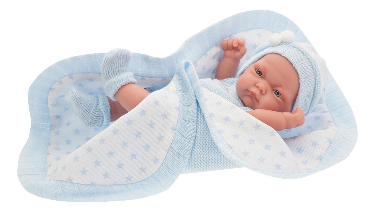Купить Карлос в голубом 26 см, Кукла-младенец Munecas Antonio Juan Карл 26 см в голубом 4069B, Пупсы