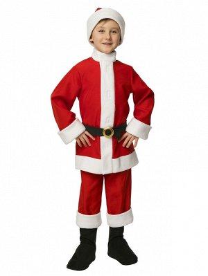 Карнавальный костюм Вестифика Санта-Клаус, цв. красный р.116 104001116