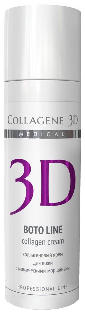 Купить Крем для лица Collagene 3D 19016 Boto Line коррекция мимических морщин 30 мл, Medical Collagene 3D