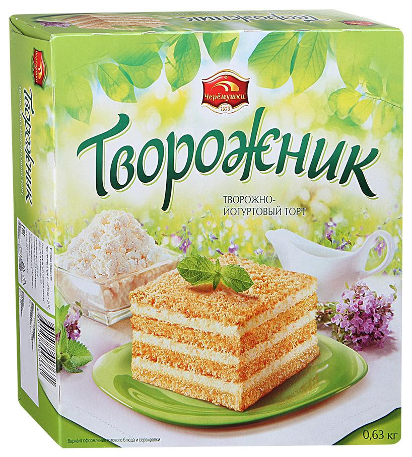 Торт творожно-йогуртовый Черемушки творожник 630 г фото