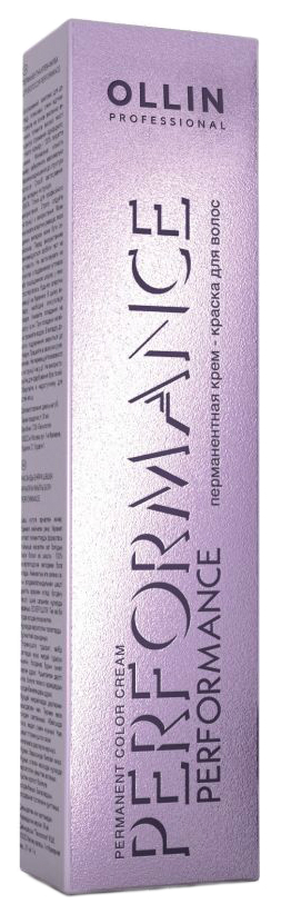 Краска для волос Ollin Professional Performance 6/5 Темно-русый махагоновый 60 мл
